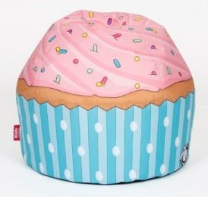 sittsäck barn cupcake